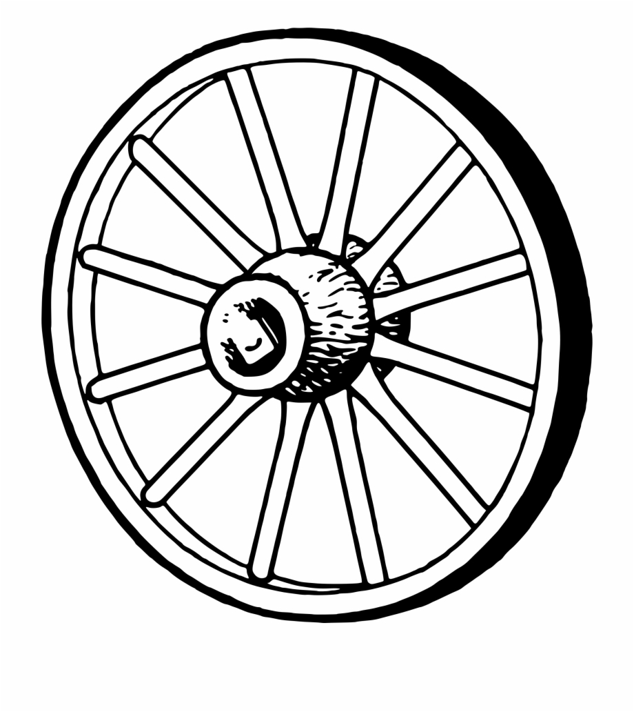 Wagon Wheel Clipart.