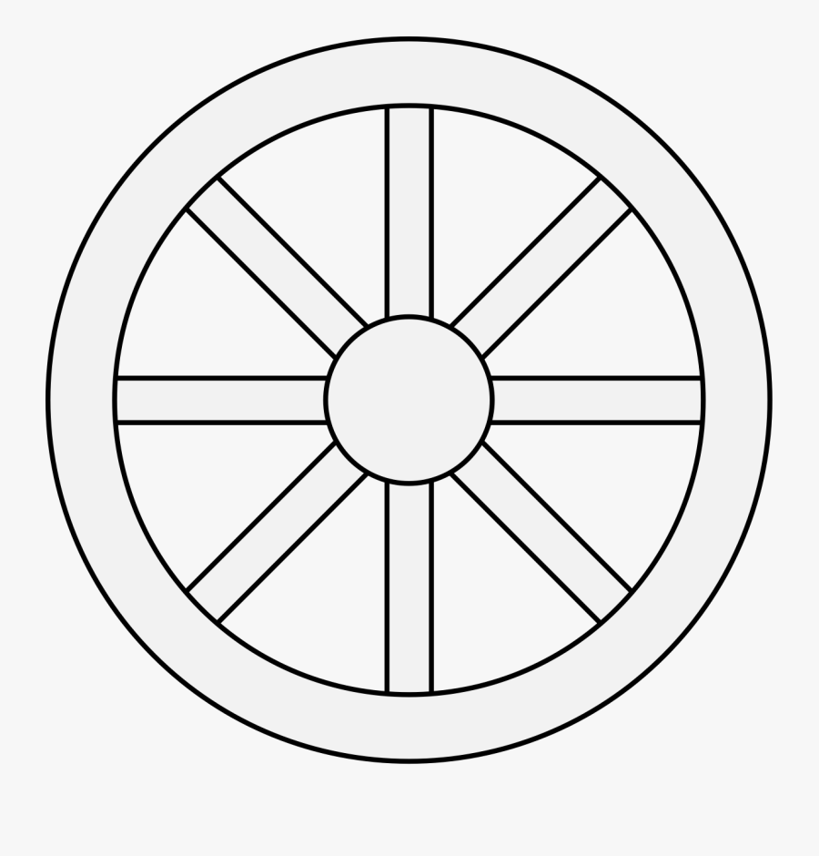 Wagon Wheel Clipart Black And White , Free Transparent.