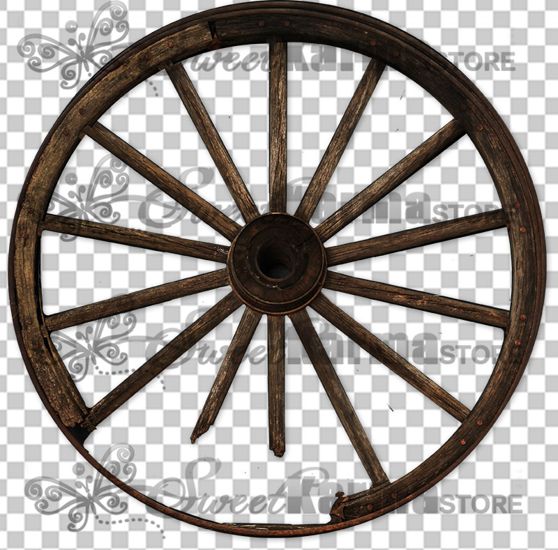 Wagon Wheel .PNG, Sweetkarma Store.