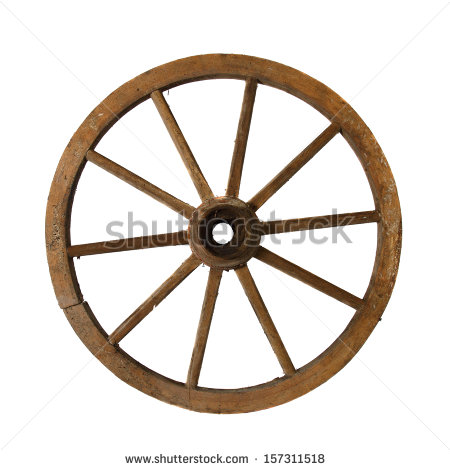 Wagon Wheels Stock Photos, Royalty.
