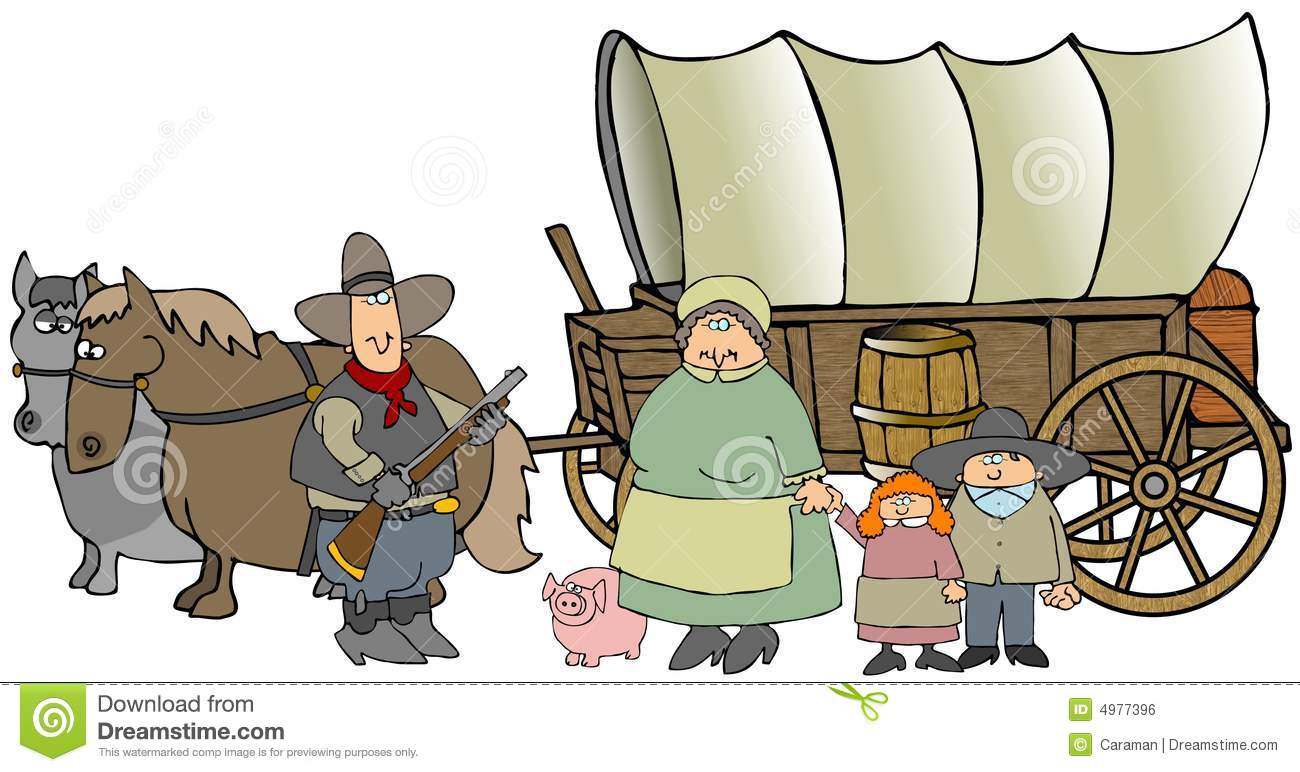 Similiar Wagon Train Cartoon Keywords.