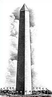 Free Washington Monument Clipart.