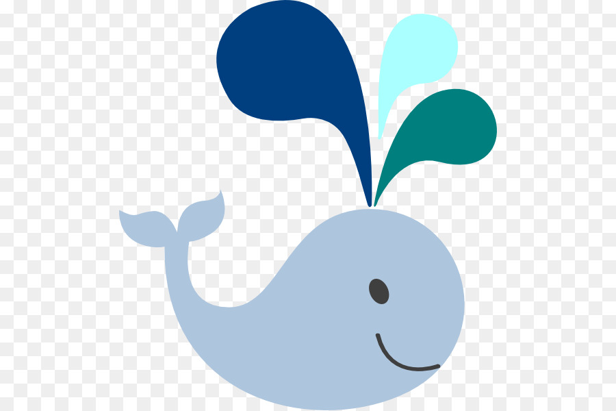 Whale Cartoon clipart.