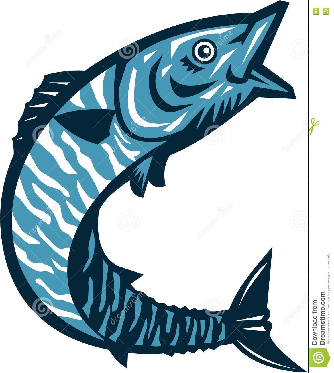 Wahoo Fish Clipart.
