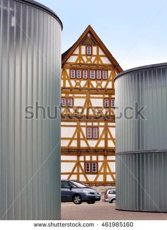 Round Glass Building Banque d'Image Libre de Droit, Photos.