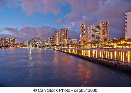Waikiki Clipart.