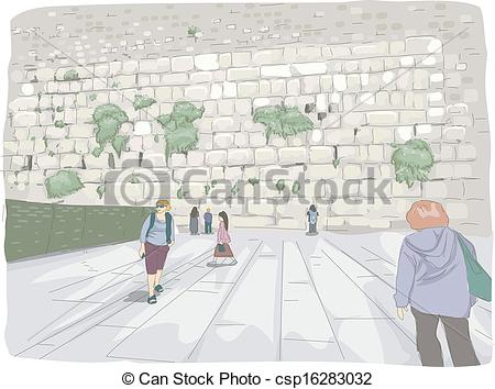Vectors of Wailing Wall.
