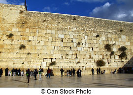 Stock Images of Wailing wall.
