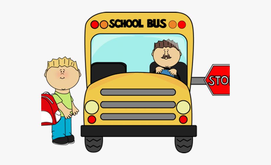 School Bus Drive Clipart , Transparent Cartoon, Free.