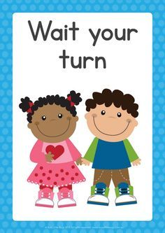 Wait for your turn clipart 8 » Clipart Portal.