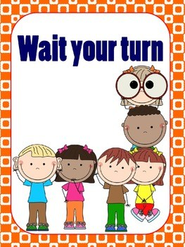 Wait for your turn clipart 7 » Clipart Portal.