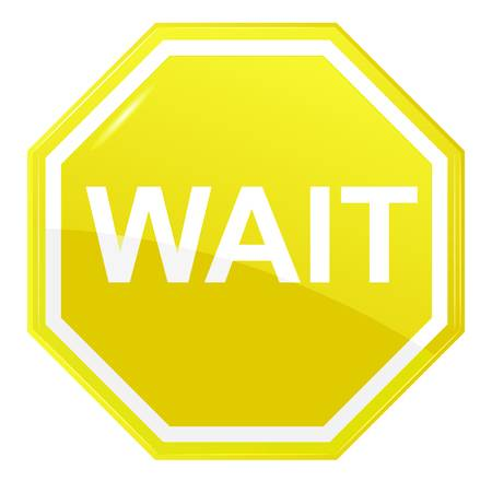 18,433 Wait Sign Stock Illustrations, Cliparts And Royalty Free Wait.