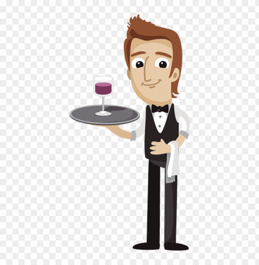 Download waiter clipart png photo.