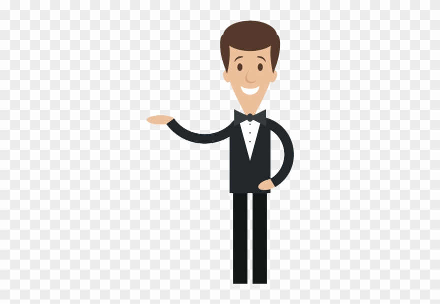 Waiter Png Clipart (#1602163).