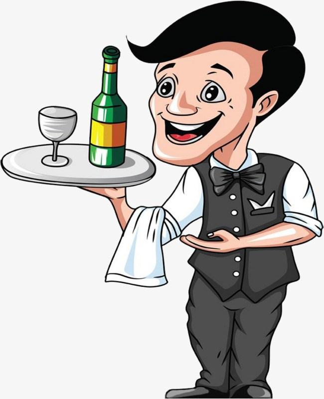 Free waiter clipart 6 » Clipart Portal.
