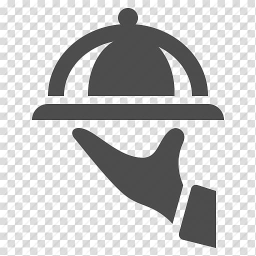 Serving tray logo, Waiter Computer Icons , Hand, Platter.