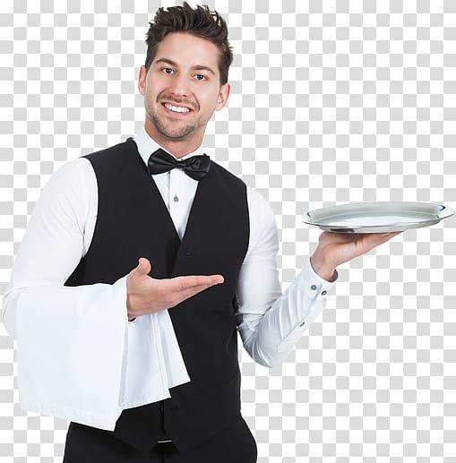 Butler holding tray, Waiter Tray T.