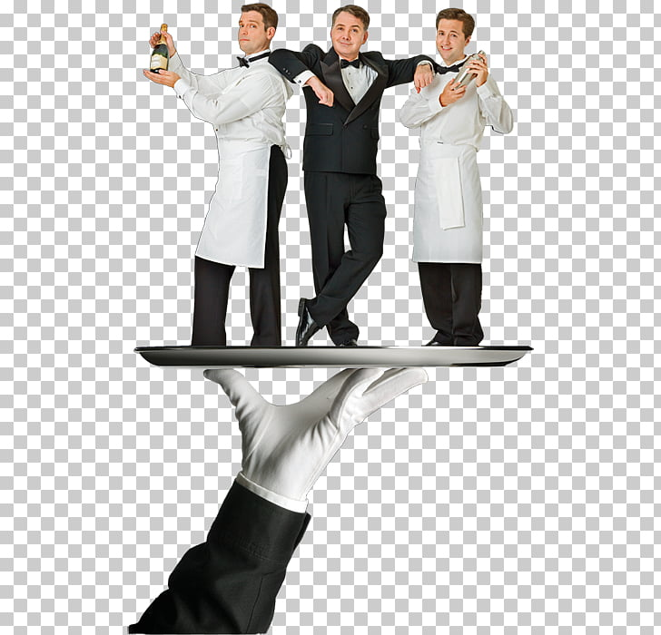 Waiter Tuxedo M. THE TALENT ROOM Humour LoganMania, others.