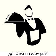 Waiter Clip Art.