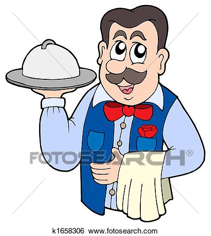 Waiter clipart 4 » Clipart Station.
