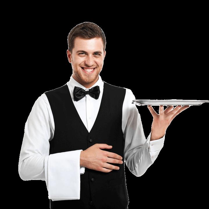 Waiter PNG Image.