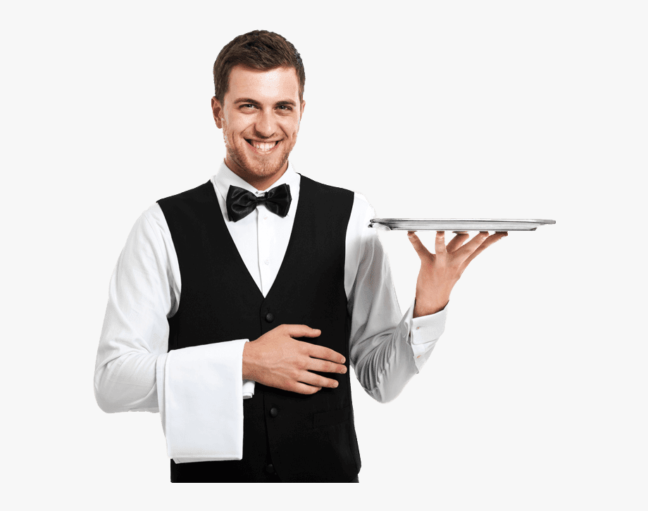 This Png File Is About Restaurant Worker , Waiter ,.
