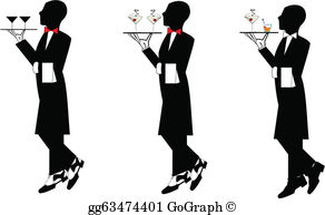Waiters Clip Art.
