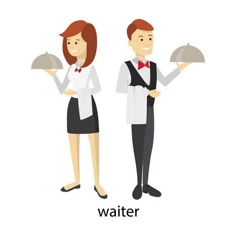 108 Two Waitresses Stock Illustrations, Cliparts And Royalty Free.