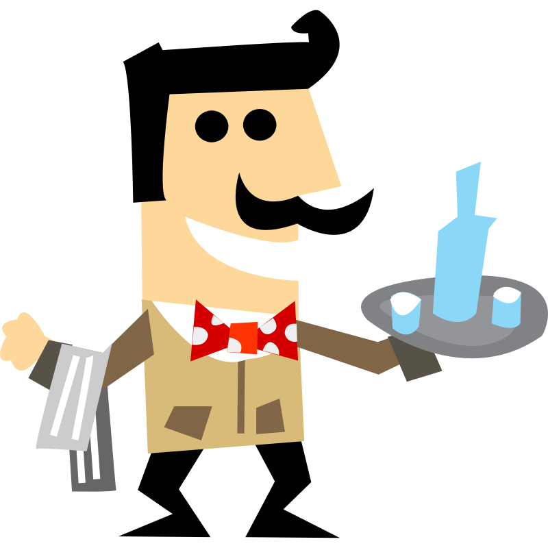 Free Picture Of Waiter, Download Free Clip Art, Free Clip Art on.