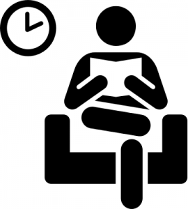 Waiting area clipart.