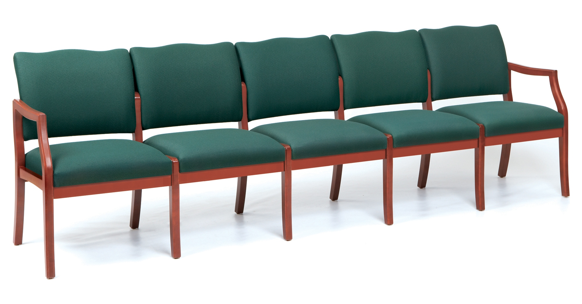 Furniture : Decorative Chairs Lined Up In An Empty Waiting Room Or.