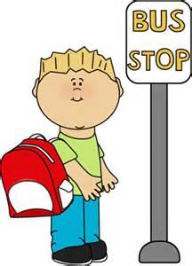 Walking School Bus Clipart.