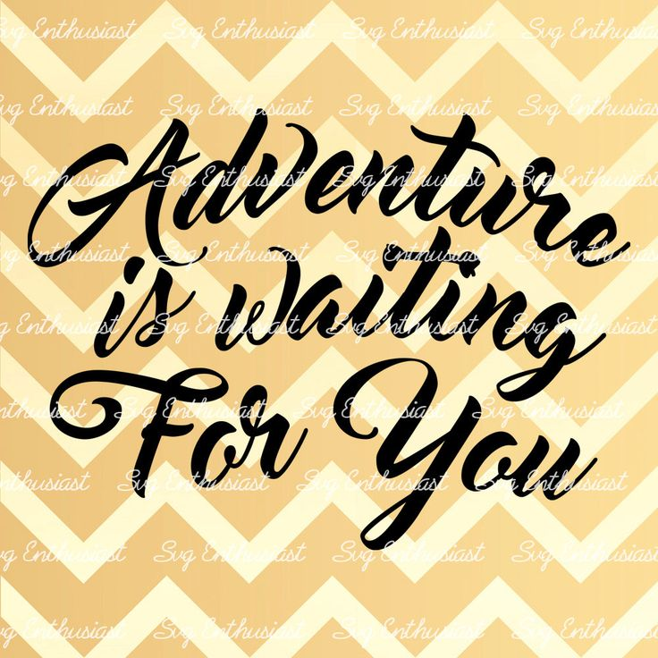 Adventure is waiting for you SVG, Travel SVG cutting file, Cricut.