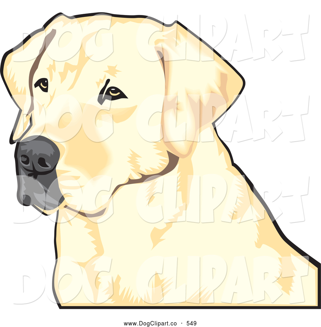Waiting dog clipart.