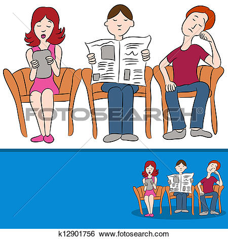 Waiting room Clip Art and Illustration. 1,103 waiting room clipart.