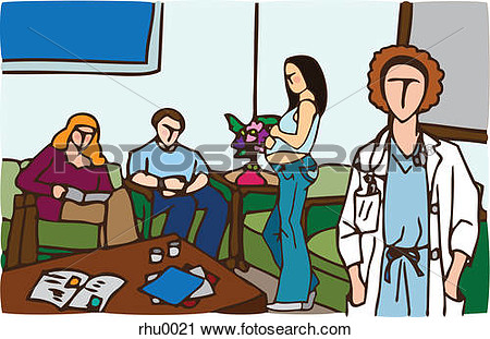 Showing post & media for Cartoon waiting room clip art.