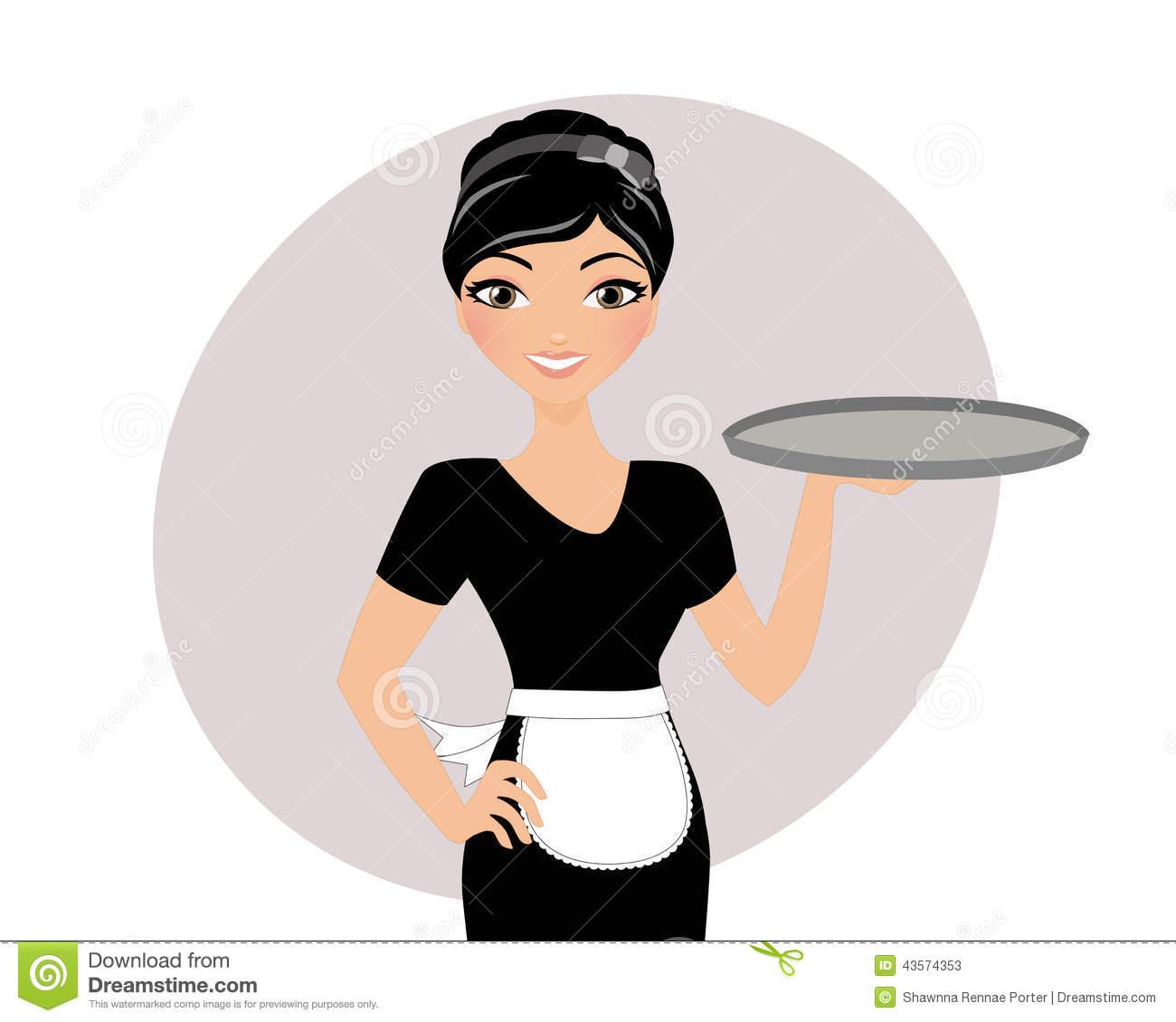 Waitress Clipart & Waitress Clip Art Images.