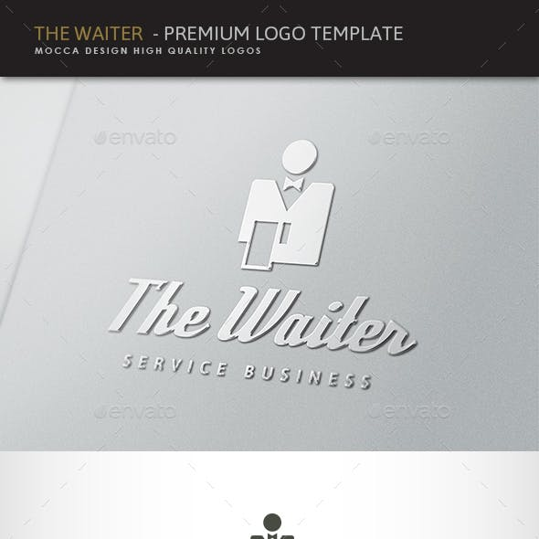 Waitress Logo Templates from GraphicRiver.
