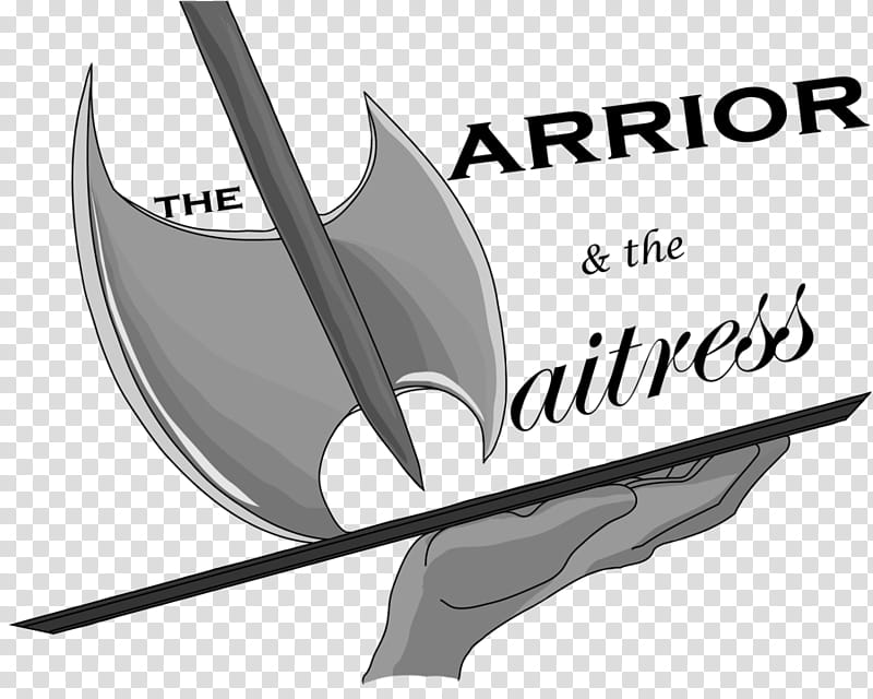 The Warrior and the Waitress Logo transparent background PNG.