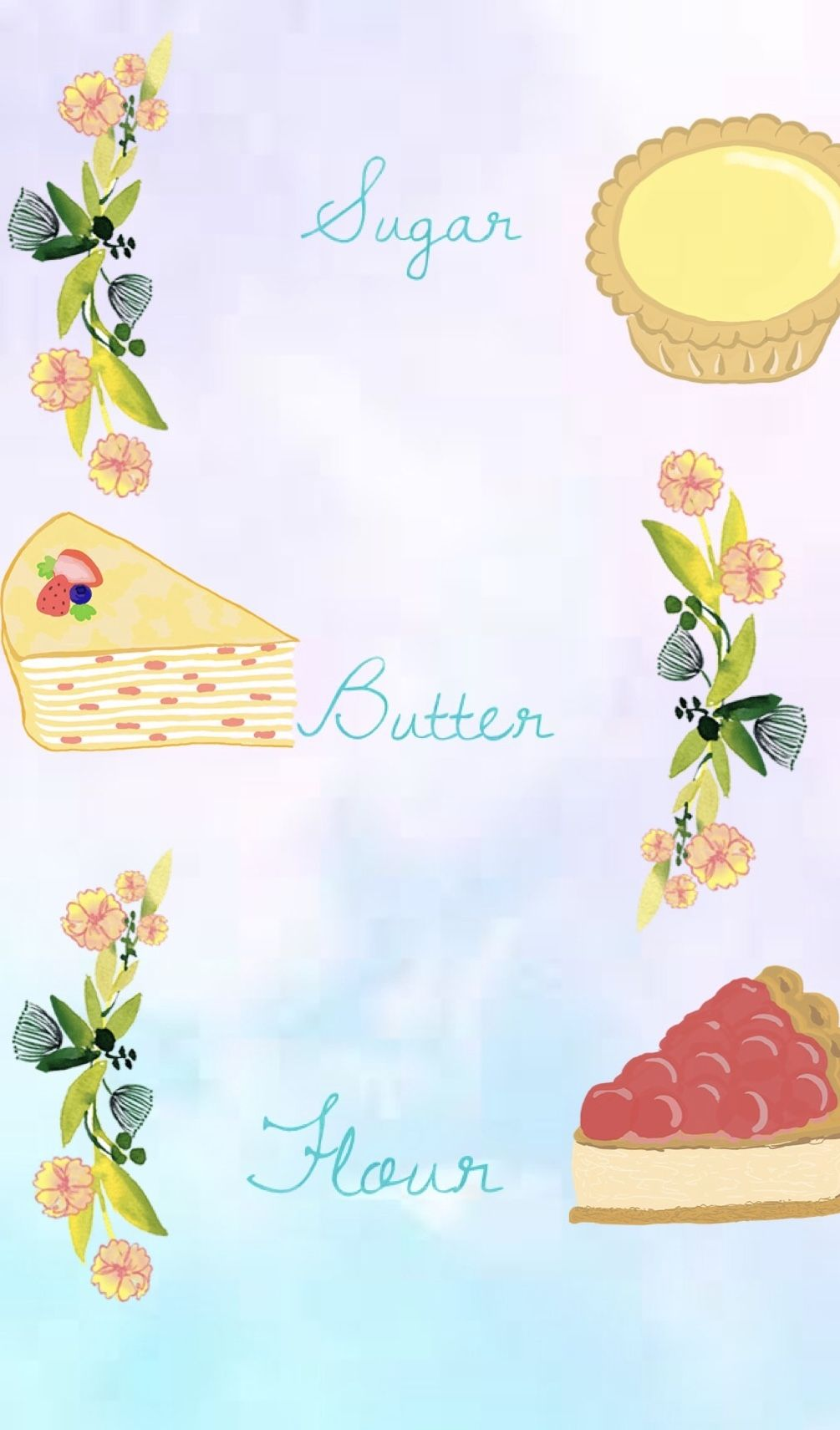 iPhone wallpaper Made by Dodie Fozter.