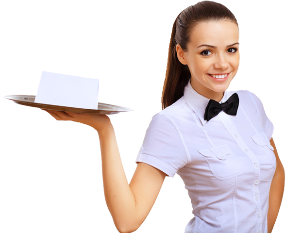 Download Free png Waitress PNG, Download PNG image with transparent.