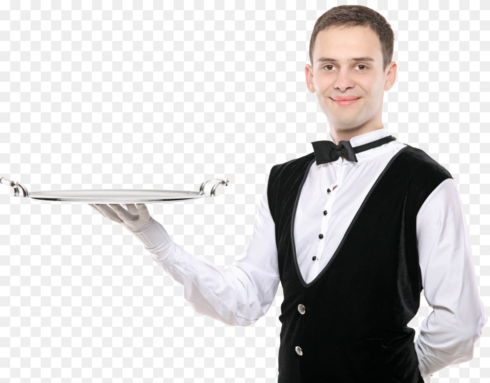Waiter Waitress Information Sticker Free #184308.