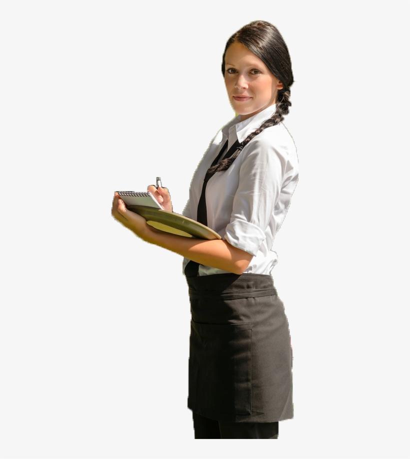 Free Waitress Png.