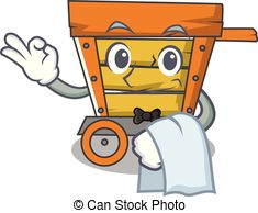 Serving trolley Vector Clipart EPS Images. 138 Serving.