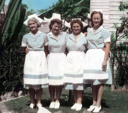 waitress uniforms.