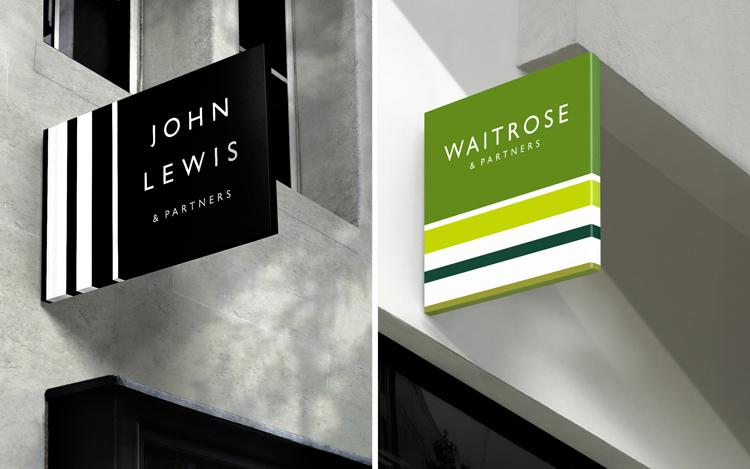 Pentagram\'s Harry Pearce rebrands John Lewis and Waitrose.