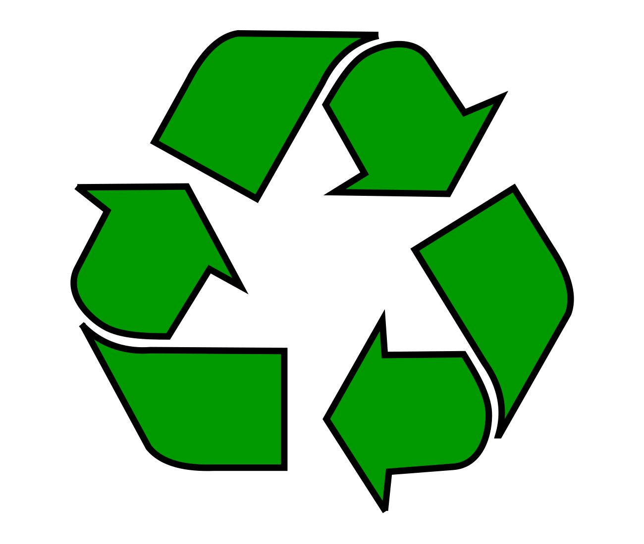 Meaning Recycle logo and symbol.