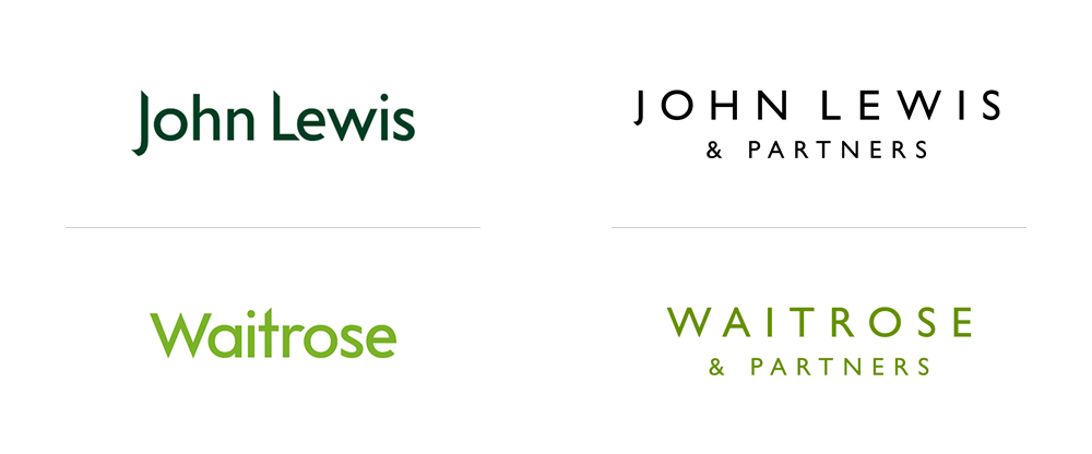 Brand New: New Logos and Identities for John Lewis Partnership by.