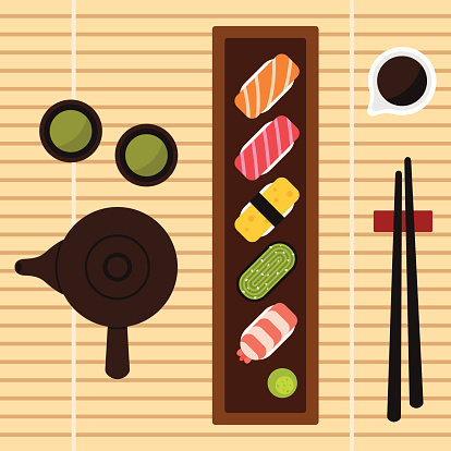 Wakame Clip Art, Vector Images & Illustrations.