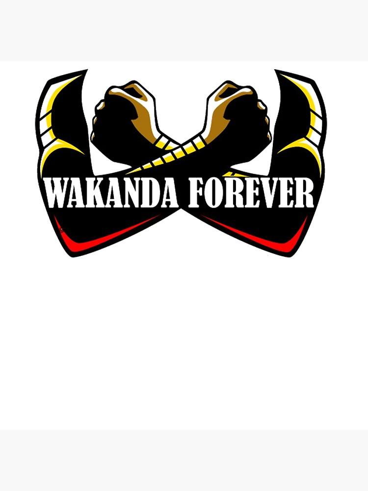 WAKANDA FOREVER T SHIRT.